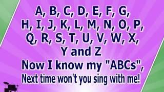 getlinkyoutube.com-Karaoke for kids   ABC Alphabet Song   with backing melody