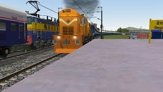 getlinkyoutube.com-MSTS IR Indian Railways (IV) By Vaibhav Wakharkar