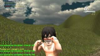 getlinkyoutube.com-mod attack on titan ดาบไม่หัก แก๊สไม่หมด เป็นไททัน เอเลนได้ โดยไม่ต้องรอ
