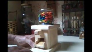 getlinkyoutube.com-Make a Push Button Candy Dispenser