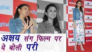 Parineeti Chopra REACTED on working with Akshay Kumar in Namastey England | FilmiBeat