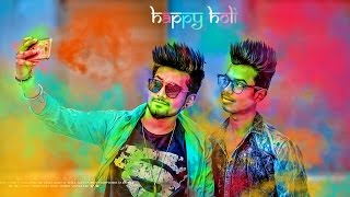 Photoshop Holi Special Editing and  Effects Tutorial