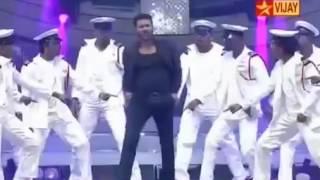 getlinkyoutube.com-Prabhu Deva dance performance in vijay awards 2015