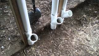 Urban Farmer - PVC chick feeder - upgraded features