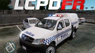 getlinkyoutube.com-GTA IV : LCPDFR 1.0 - Australian Police Patrol