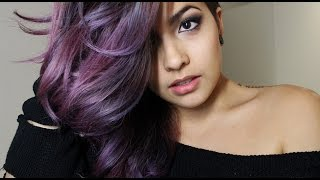 getlinkyoutube.com-How I Did My Dark Purple Hair ~Dark, Enchanted Forest~