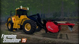 getlinkyoutube.com-Farming Simulator 15: Volvo L180F & AHWI FM700