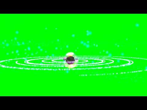 "planet with energy shield animation - ""free Chroma Key Effects"""
