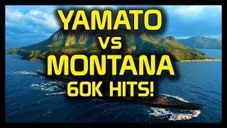 getlinkyoutube.com-► World of Warships Yamato vs Montana: 60K Citadel Hits! - Montana vs Yamato Live Gameplay
