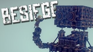 getlinkyoutube.com-PEASANT EATER - Besiege Alpha Sandbox