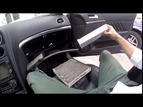 DIY/How to... # Change Cabin/Pollen Filter Alfa Romeo 159(ENG.SUBS)