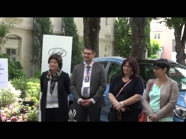 Cérémonie GARAC-Hyundai - M. le Président Raymond Vie