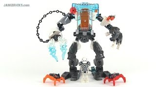 getlinkyoutube.com-LEGO Hero Factory 44017 Stormer Freeze Machine (Invasion from Below) set review!