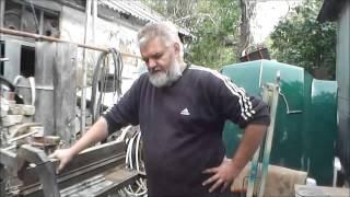getlinkyoutube.com-Самодельный листогибочный станок. (sheet metal bender, press brake)