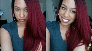 Red Head ;) Outre Natural Yaki 24 | DR425 | Show N Tell