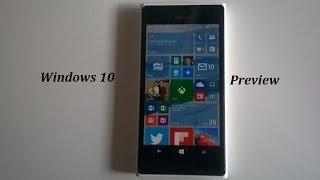 getlinkyoutube.com-Como Atualizar o Windows Phone 8.1 para Windows 10 Mobile Preview - Insider