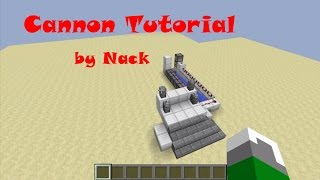 getlinkyoutube.com-Minecraft:สอนทำปืนใหญ่