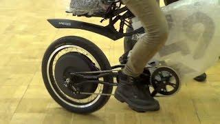 getlinkyoutube.com-Электровелосипед - Мотор-Колесо Дуюнова уже на выставке.