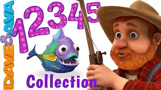 getlinkyoutube.com-12345 Once I Caught a Fish Alive | Number Song | Nursery Rhymes Collection from Dave and Ava