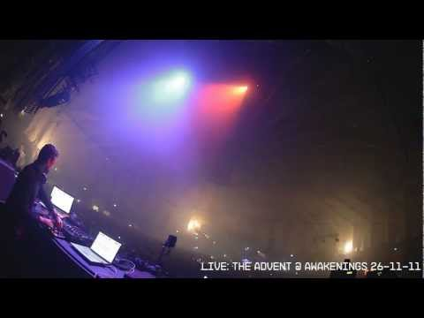 The Advent Live FIREWORKS @ Awakenings 26-11-11 Gashouder Amsterdam