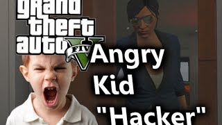 "getlinkyoutube.com-GTA 5 Online: Angry Kid ""Hacker"" Will ""Blow Our World Up!"""