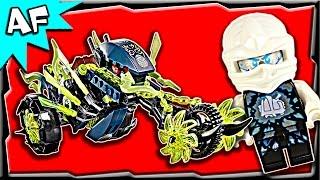getlinkyoutube.com-Lego Ninjago CHAIN CYCLE Ambush 70730 Ghost Army Stop Motion Build Review