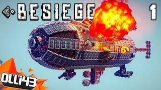 getlinkyoutube.com-AWESOME BESIEGE CREATIONS! Transportation! (Besiege Gameplay Part 1)