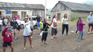 AYF Internship in Armenia - Video 15 - Flash Mob in Chin Chin Village