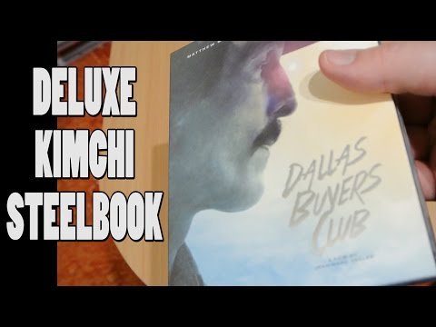 DALLAS BUYERS CLUB Kimchi Blu-Ray Full-Slip Steelbook Unboxing!