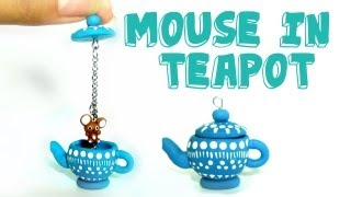 getlinkyoutube.com-Polymer Clay Mouse in Teapot Tutorial