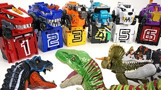 Dinosaur-army-appeared-in-Tayo-town-Power-Rangers-and-DinoCore-combination-attack-DuDuPopTOY width=
