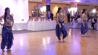 getlinkyoutube.com-Haseena & Devan - Surprise Wedding Reception Dance