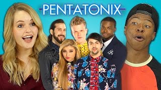 getlinkyoutube.com-TEENS REACT TO PENTATONIX