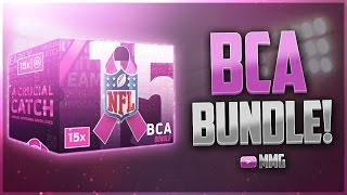 getlinkyoutube.com-LET'S GO! BCA BUNDLE OPENING! 15x BCA Packs! Madden Mobile 17
