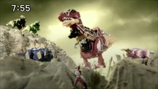 getlinkyoutube.com-Power Rangers Dino Charge Zyuden Sentai Kyoryuger Toys Commercial CM