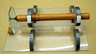 getlinkyoutube.com-Magnet rotor levitation