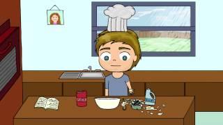 getlinkyoutube.com-Pewdiepie Animated Baking Simulator