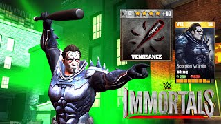 getlinkyoutube.com-WWE Update 1.9.1 STING Scorpion Warrior All special Attacks Android/IOS