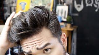 getlinkyoutube.com-Como fazer topete | Hairstyle por Fabiano Okabayashi