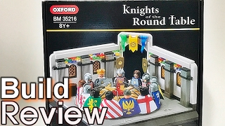 getlinkyoutube.com-[생방송] 옥스포드 원탁의 기사 레고 호환 블럭 조립 과정 리뷰 Oxford bm35216 Knights of the Round table build Review