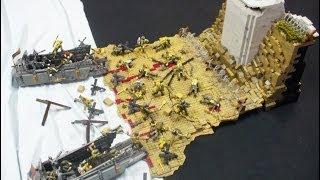 getlinkyoutube.com-D-Day Omaha Beach Diorama - Call of Duty Mega Bloks by Goodwill Hunter