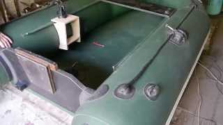 getlinkyoutube.com-Самодельный столик для эхолота, Homemade table for sonar