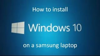 getlinkyoutube.com-Problem installing Windows 10 on Samsung laptop - error 0xC1900101 - 0x20017