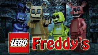 Minecraft | LEGO CHALLENGE - Five Nights At Freddy's Mod! (Freddy, 5NAF, Lego Build)