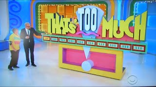 getlinkyoutube.com-The Price is Right - That's Too Much - 2/15/2016
