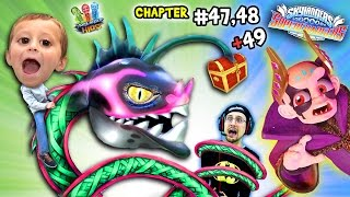 getlinkyoutube.com-BABY HYDRA SO CUTE!!  Lets Play SKYLANDERS SUPERCHARGERS Chapter 47, 48 & 49:  THE SKY EATER!