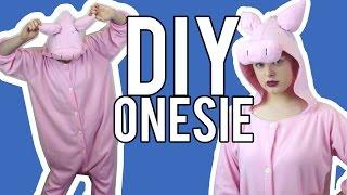 DIY Onesie / Kigurumi   Make Thrift Buy #29