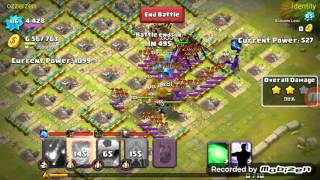 getlinkyoutube.com-Clash Of Lords 2 How to deal with Landslide and Chiron When Attacking