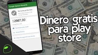 getlinkyoutube.com-¡CÓMO CONSEGUIR DINERO GRATIS PARA PLAY STORE! | HazAndroidFácil 2016 LEGAL