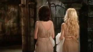 Darla Haun and Karen Roe Hot Scene From Dracula Dead And Loving It width=